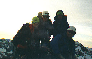 Summit shot, late in the day
