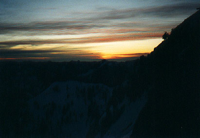Sunset on Chair Peak