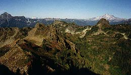 NE ridge of Mt. Dickerman and Twin Peaks