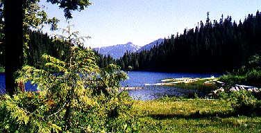 Talapus Lake from the north shore