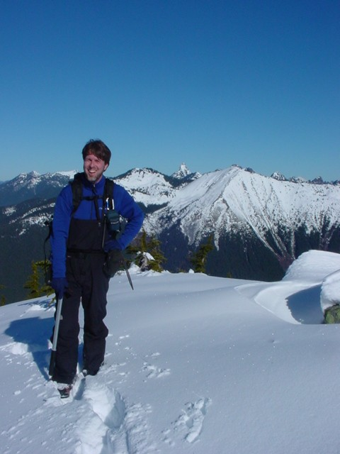 Matt on summit ridge